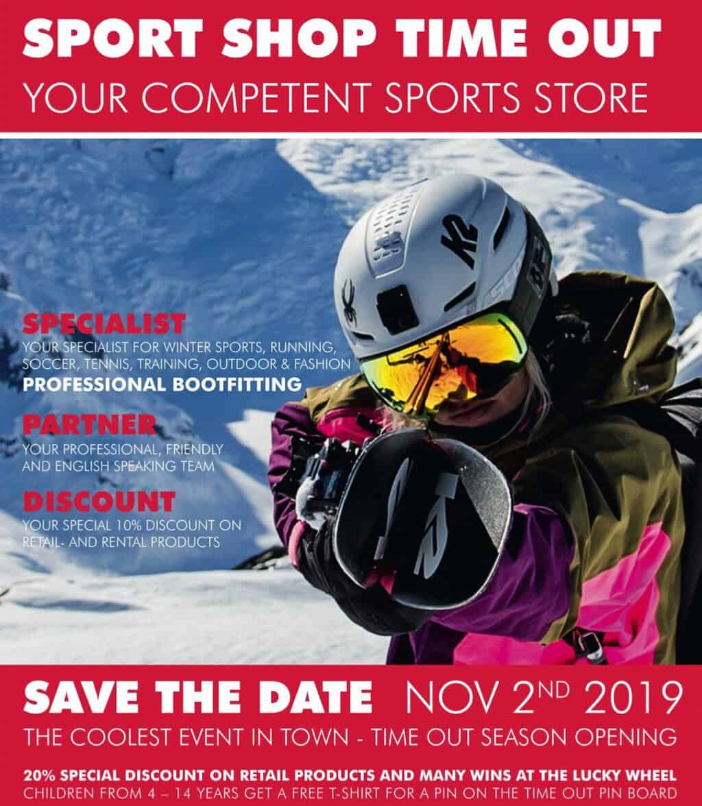 Ski Season Opening Event at Time Out Sports Shop Uster