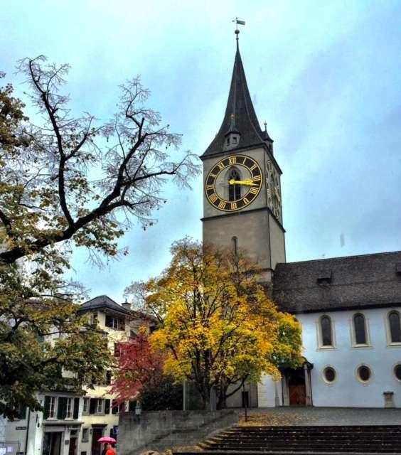 St Peters Church Zurich