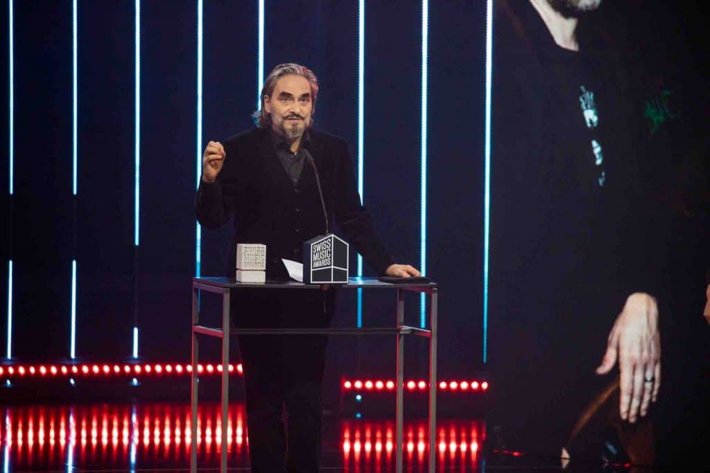 Stephan Eicher Swiss Music Awards 2020