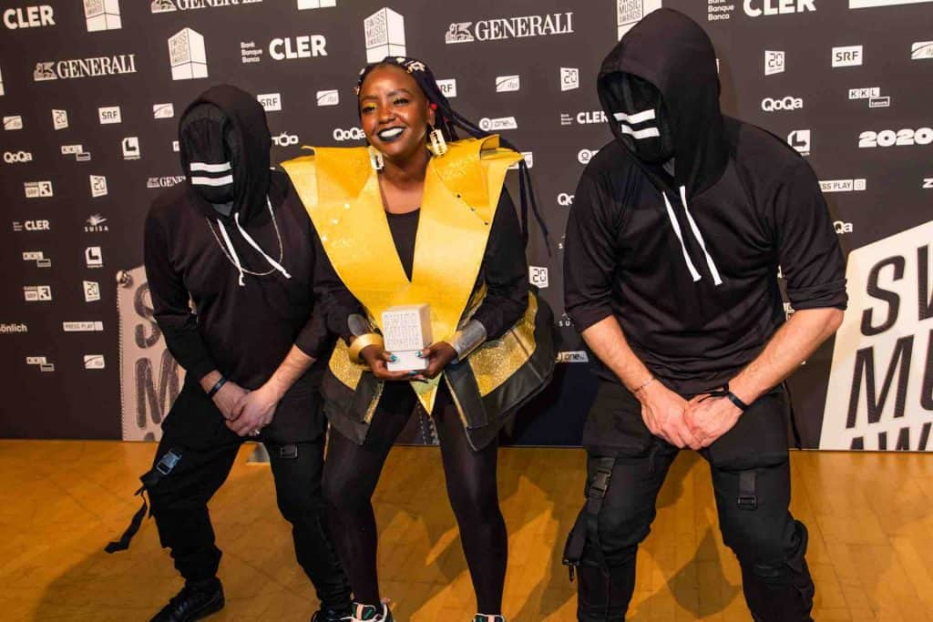 Muthoni Drummer Queen Swiss Music Awards 2020