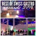 Best of Swiss Gastro Awards 2016