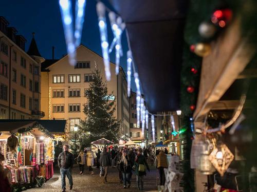 niederdorf Christmas Market