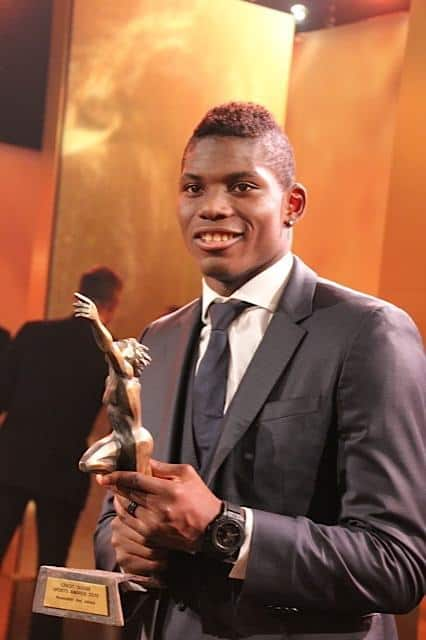 Breel Embolo Newcomer of the Year Sports Awards