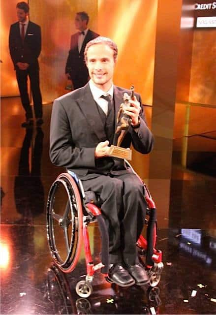 Marcel Hug swiss paralympic sportsperson of the year