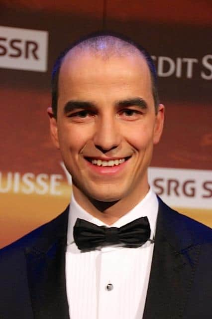 Nino Schurter at Credit Suisse Swiss Sports Awards