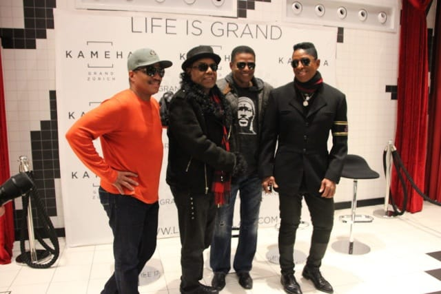 The Jacksons in Zurich for Art on ice 2016
