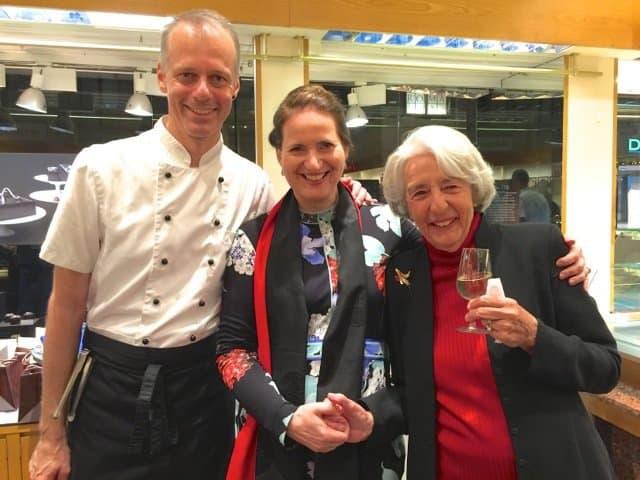 Lotti Honold, Cristina de Perregauz and Ivo Judd