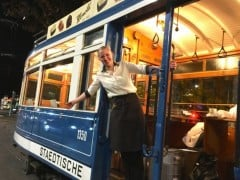 Vintage Chocolate Tram Ride in Zurich with Honold