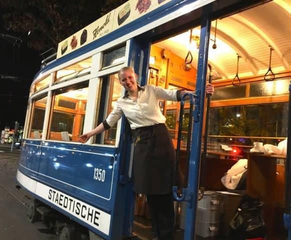 Schoggi tram Zurich
