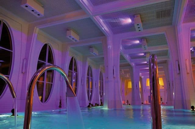 Thermal spa at Bad Ragaz