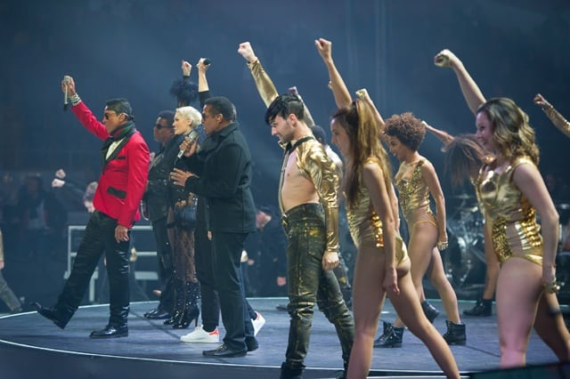 Jessie J & the Jacksons at Art On Ice Davos 2016