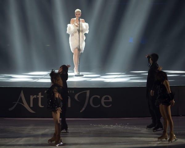 Jessie J at Art On Ice 2016