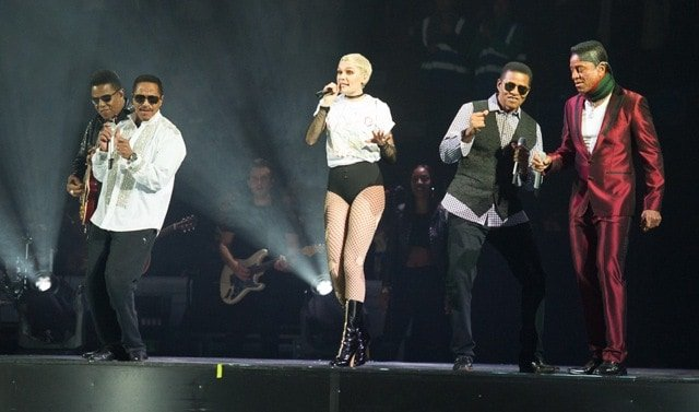 Jessie J and the Jacksons