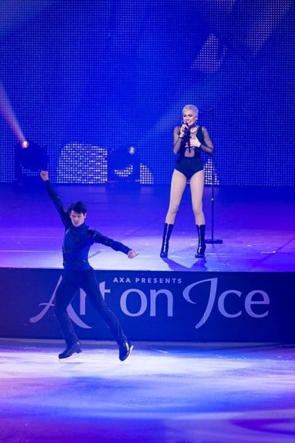 Stephane Lambiel with JessieJ