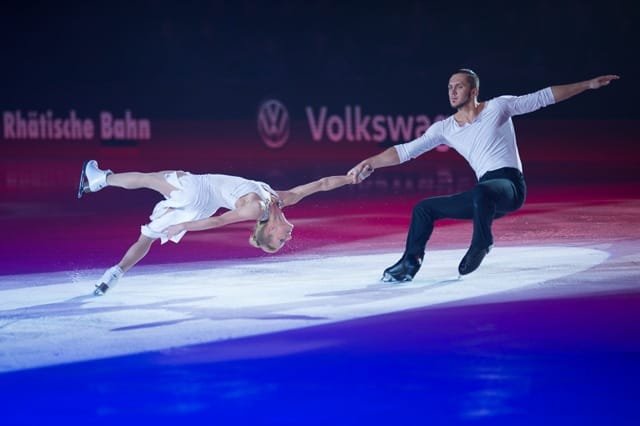 Tatiana Volosozhar & Maxim Trankov Art on ice 2016