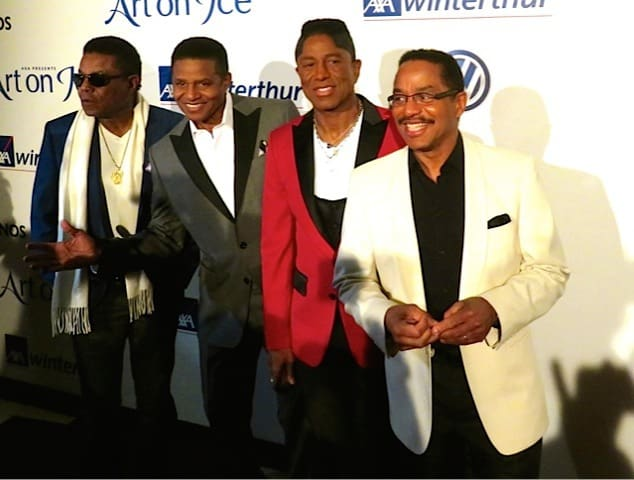 The Jacksons at Art On Ice