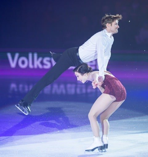 Meryl Davis & Charlie White at Art On Ice Davos 2016