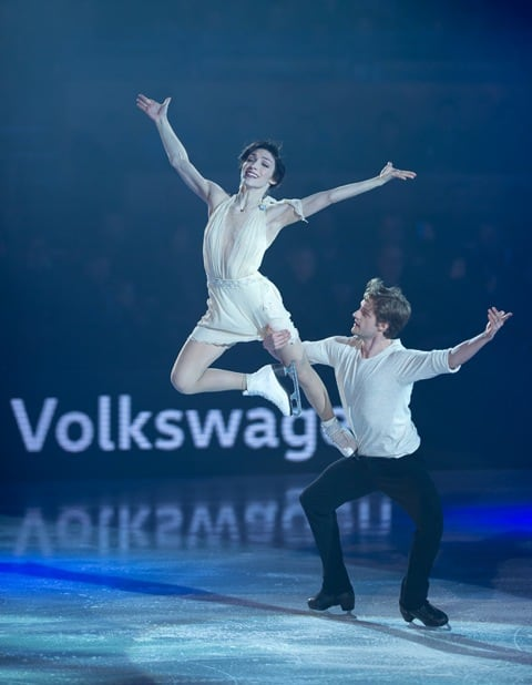Meryl Davis and Charlie White at Art On Ice Davos 2016