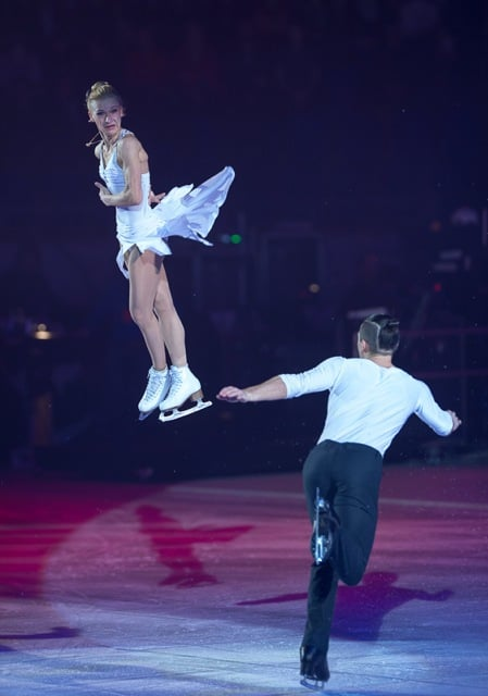 Tatiana Volosozhar and Maxim Trankov at Art On Ice Davos 2016