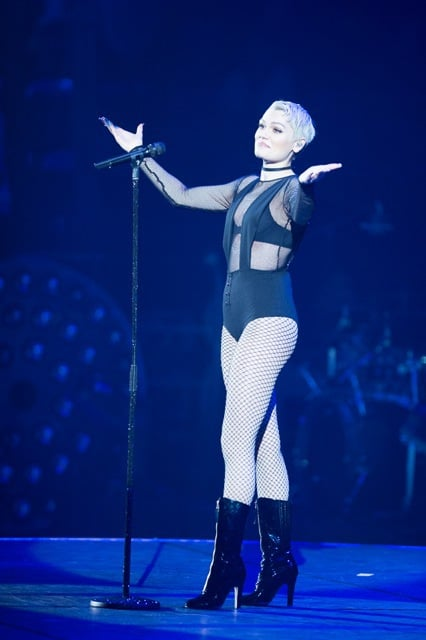 Jessie J at Art On Ice 2016