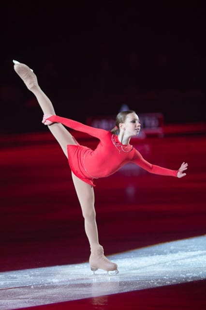 Liza Nugumanova Art On Ice 2016