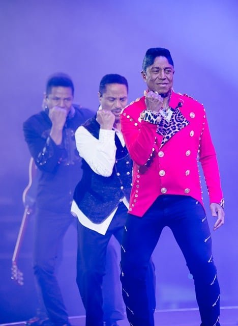 the Jacksons at Art On Ice Davos 2016