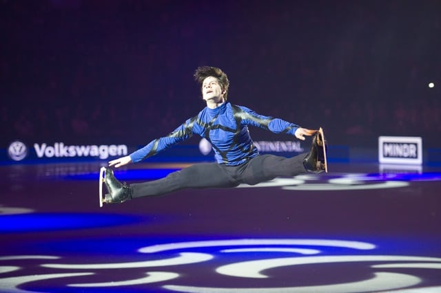 Stephane Lambiel at Art On Ice Davos 2016