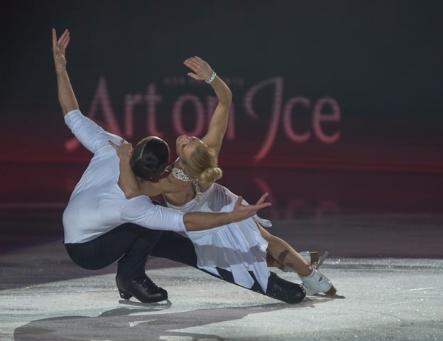 Maxim Trankov & Tatiana Volososzhar at Art On Ice 2016 Zurich