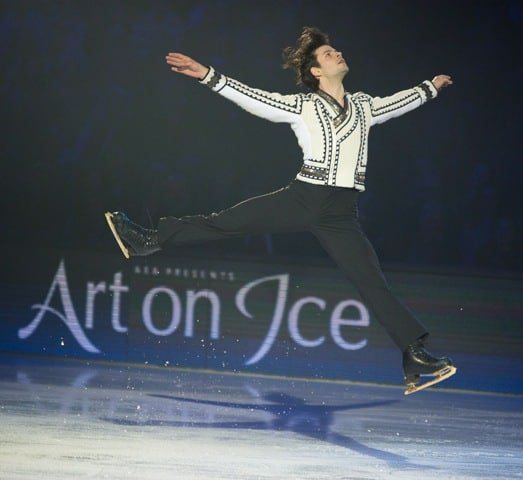 Stephane Lambiel at art On Ice 2016