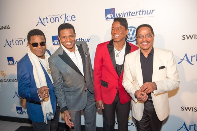 The Jacksons at Art On Ice 2016