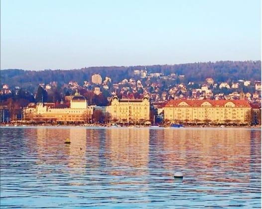 Zurich in March