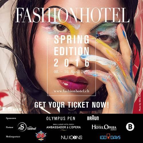 fashion hotel Zurich spring 2016