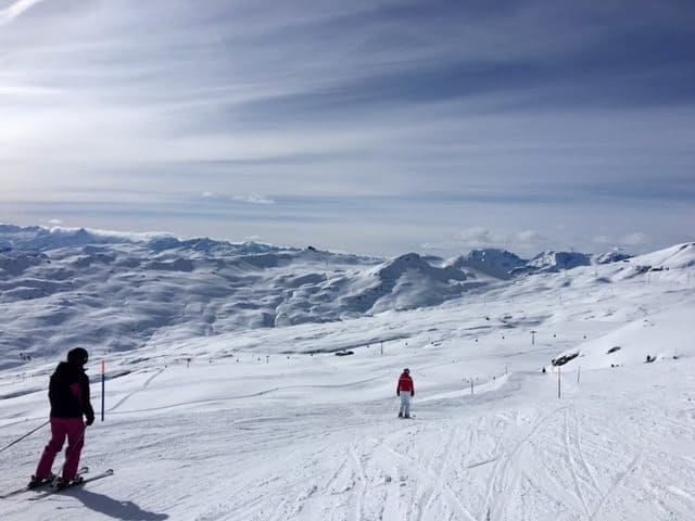 Great Skiing at Flims and Laax in Switzerland