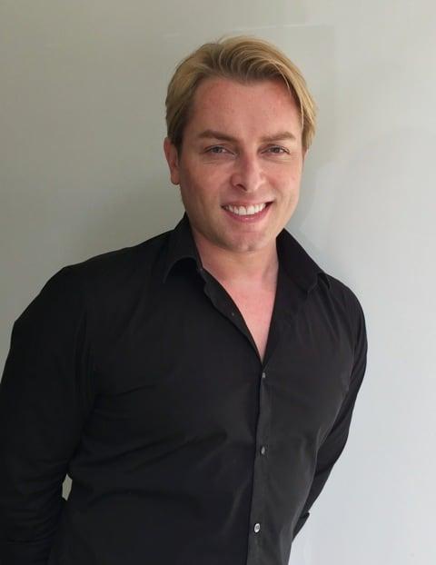 Niall Wykes leading Zurich hairdresser
