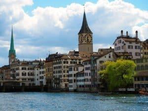 Zurich in April