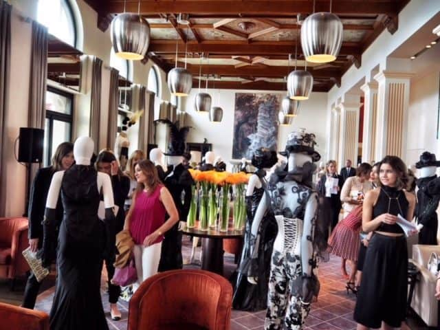 Jean luc amsler haute couture fashion at the dolder grand for Haute zurich