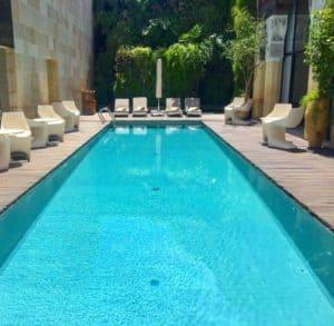 Pool at Riad Fes Morocco