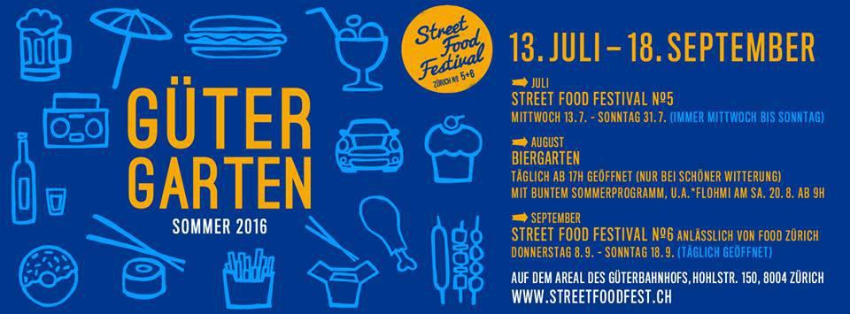 Zurich Street Food Festival 2016