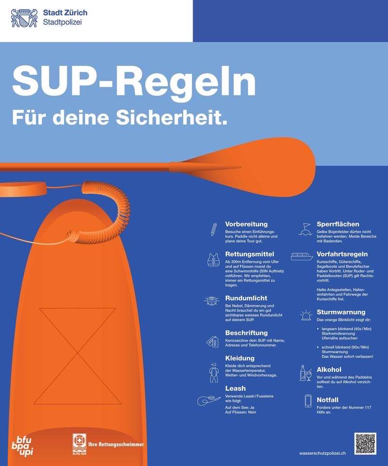 Sup rules in Zurich