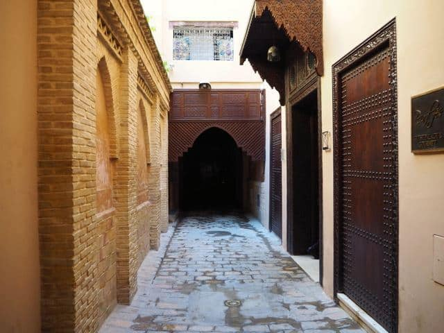 riad fez entrance