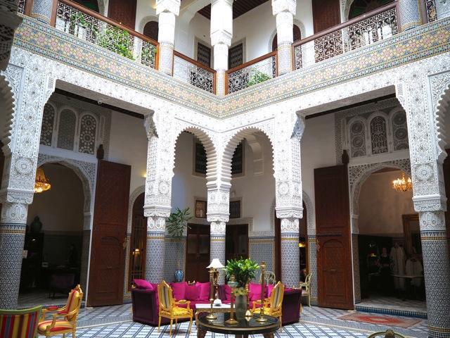 riad fez hotel Morocco
