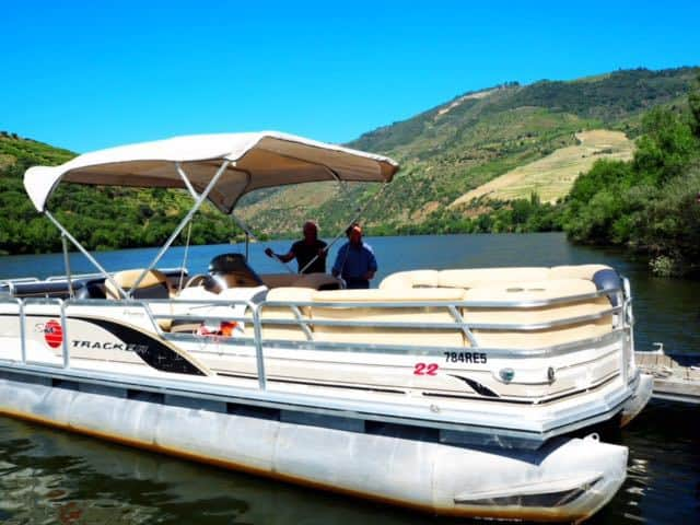 Boat trip on river Douro