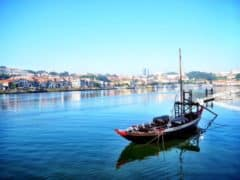 On the Port Trail from Porto to the Douro Valley in Portugal