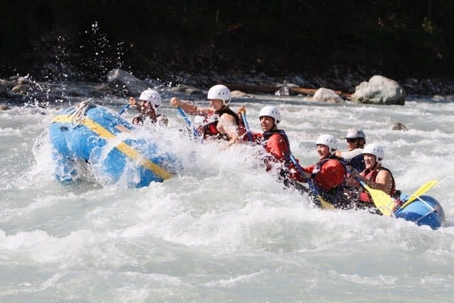 When the River Calls - Rafting at Vorderrhein near Flims