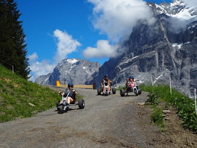 mountain carting in Jungfrauregion