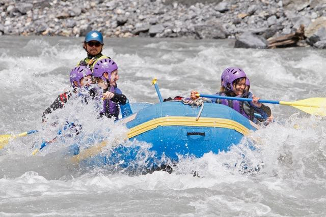 rafting in Vorderrhein