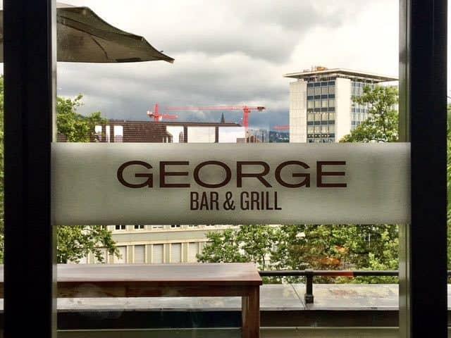 Sunntigsbrate George Bar and Grill Zurich