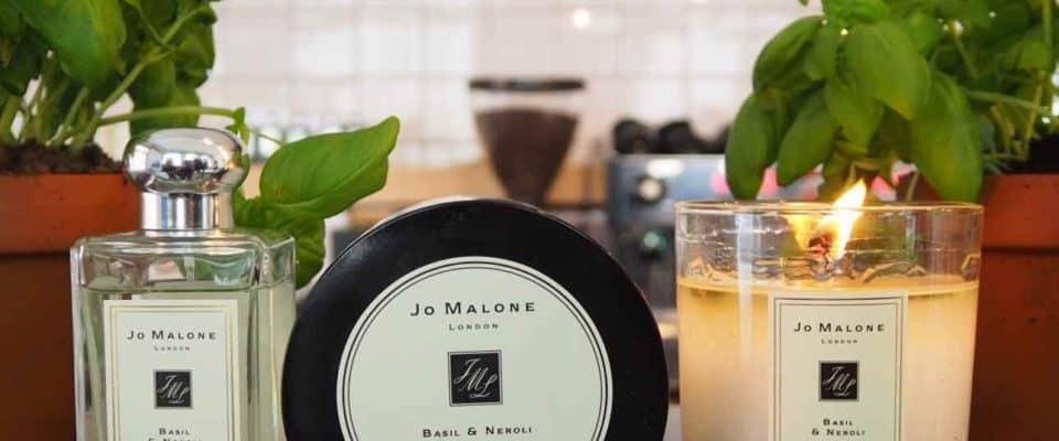 Jo Malone new fragrance Basil and Neroli