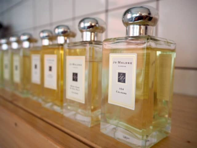 Jo Malone colognes in Zurich