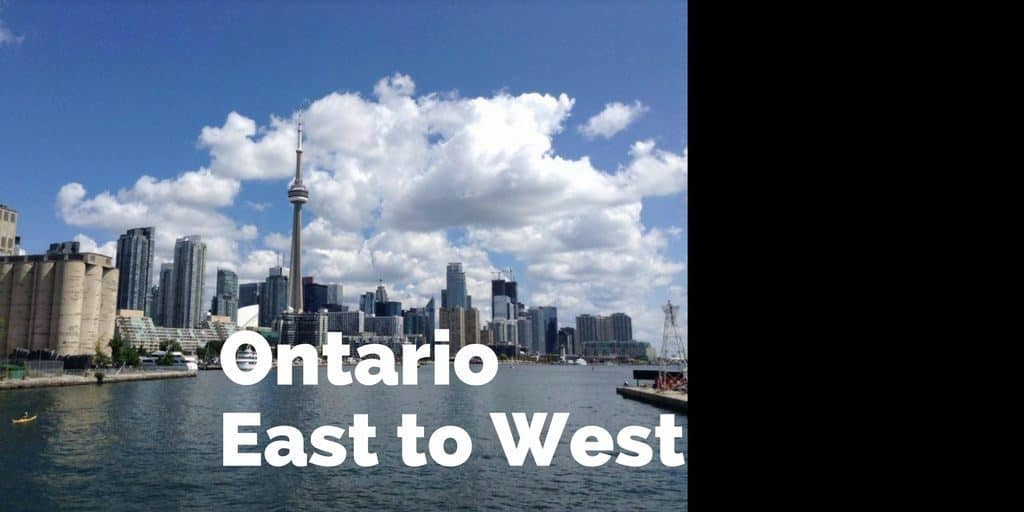 Ontario East to West